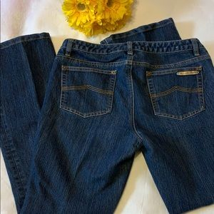 MICHAEL KORS BOOT CUT BLUE JEANS